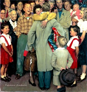 ChristmashomecomingNormanRockwell 284x300 Merry Christmas !